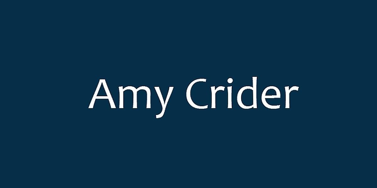 Amy Crider